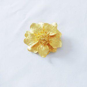 Kenneth Jay Lane's Dogwood Flower Pin